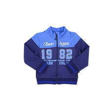 300245/1 Жакет/черно-синий