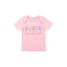 300286 фуфайка розовый