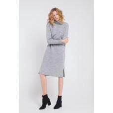 505/ш платье /св.серый меланж
