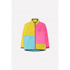 34026/1 Куртка/желтый, яр.розовый, бирюза