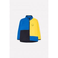 34026/3 Куртка/ярко-синий, желтый, графит