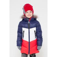 34042/1 УЗ Куртка/синий, белый, красный