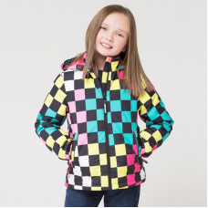 32086/н/1 куртка/цветные квадраты