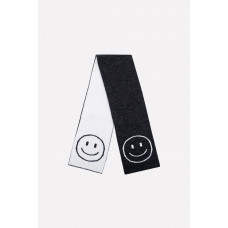 171/ш шарф/ темно-серый
