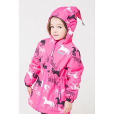 32049/н/10 куртка/неоново-розовый, зебры