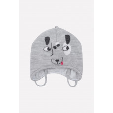 20100/ш шапка/св.серый меланж