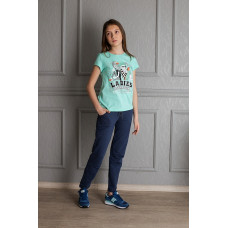 2255 брюки для девочки
