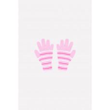 145 Перчатки /нежно-розовый, ярко-розовый