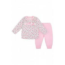 2259 комплект/цветочки+нежно розовый