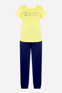 Е 2315_Комплект_бледно-лимонный, фиолетово-синий