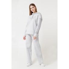 4007 брюки/серо-голубой меланж