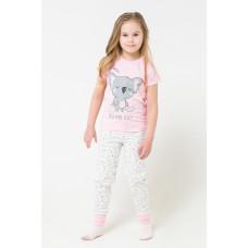 1526 Пижама/розовый, коалы на сахаре