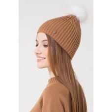 202/ш шапка/коричневый