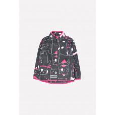 34011/н/34 Куртка/темно-серый, мишки