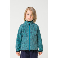 34011/н/37 Куртка/голубой, геометрия