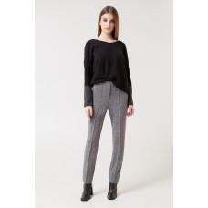 412/ш брюки /серый меланж