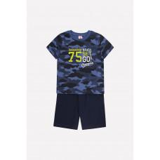 2706 комплект/джинсовый милитари, индиго