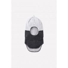 20033/20ш шапка/св.серый меланж, антрацит