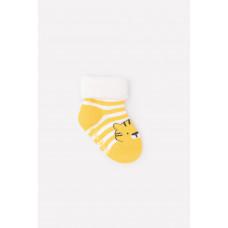 9508/40 носки/молочный, желтый