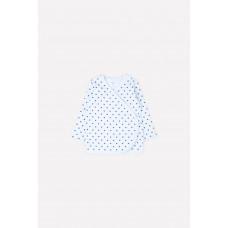 300200 кофточка/поп звезда на светло-голубом