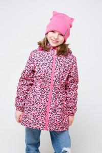 ВК 32104/н/1 ГР_куртка_розовый, леопард