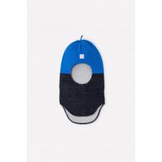 20033/20ш шапка/королевский синий, серый