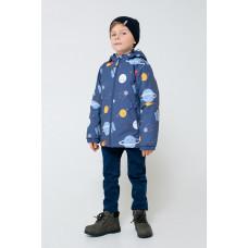 30084/н/1 куртка/темно-синий, космос