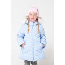 34047/н/3 Куртка/голубой, снежки