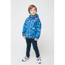 30087/н/1 куртка/ультрамарин, дороги