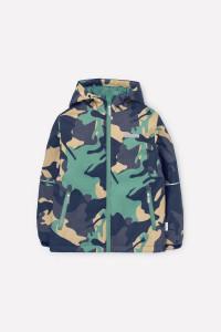 ВК 30091/н/1 ГР_куртка_хаки зеленый с песочным