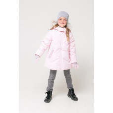 34047/н/2 Куртка/нежно-розовый, снежки