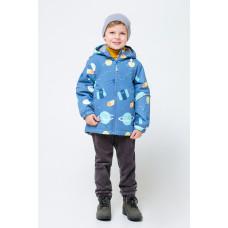 30084/н/2 куртка/синий, космос
