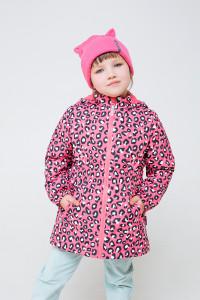 ВК 32096/н/1 ГР_куртка_розовый, леопард