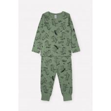 1561 Пижама/крокодилы на зеленом