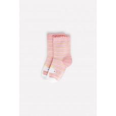 9566/7 Носки/розовый