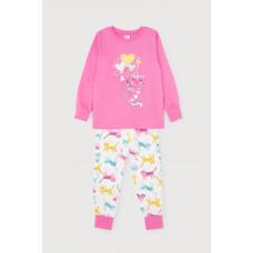 1512  Пижама/розовый, цветные котята