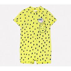 16007/3н купальник/яркий лимон, леопард