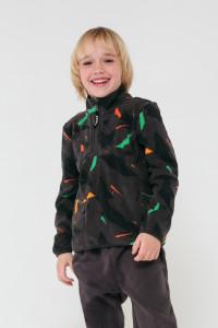 ФЛ 30002/н/1 ГР_Куртка_гранит, цветная мозайка