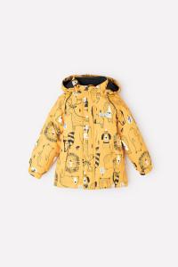 ВК 36057/н/1 ГР_Куртка_золотисто-желтый, мир животных